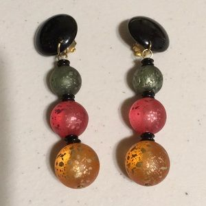 Jewelry - Vintage made in Italy dangle earrings